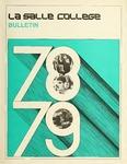 La Salle College Bulletin: Catalog Issue 1978-1979