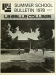 La Salle College Summer School Bulletin 1978