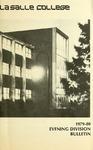 La Salle College Bulletin: Evening Division Announcement 1979-1980
