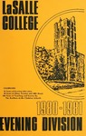 La Salle College Bulletin: Evening Division Announcement 1980-1981