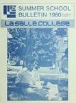 La Salle College Summer School Bulletin 1980