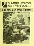 La Salle College Summer School Bulletin 1981
