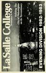 La Salle College Bulletin: Evening Division Announcement 1982-1983