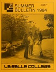 La Salle College Summer Bulletin 1984
