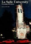 La Salle University Evening Division Bulletin 1987-1988
