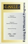 La Salle University Undergraduate Evening and Weekend Programs Bulletin 1996-1997