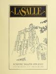 La Salle University Academic Bulletin Undergraduate Catalog 1999-2000