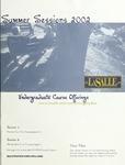 La Salle University Summer Sessions Undergraduate Course Offerings 2002