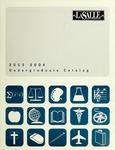 La Salle University Undergraduate Catalog 2003-2004