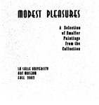 Modest Pleasures by La Salle University Art Museum