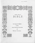 The Bible: Image and Word