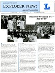 Explorer News: Spring Semester 1991 by La Salle University