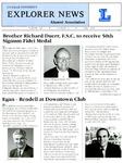 Explorer News: Fall 1991 by La Salle University