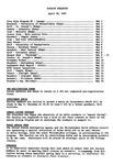 Faculty Bulletin: April 30, 1957