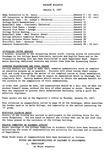 Faculty Bulletin: January 8, 1957