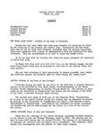 Faculty Bulletin: March 19, 1959