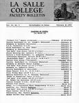 Faculty Bulletin: February 16, 1962