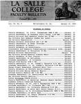 Faculty Bulletin: January 17, 1964