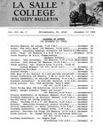 Faculty Bulletin: November 17, 1964