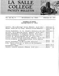 Faculty Bulletin: February 24, 1967