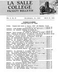 Faculty Bulletin: March 25, 1968