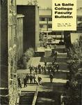 Faculty Bulletin: April 30, 1969