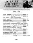 Faculty Bulletin: November 19, 1968