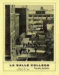 Faculty Bulletin: September 22, 1969