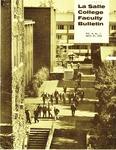 Faculty Bulletin: April 27, 1970