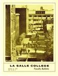 Faculty Bulletin: October 21, 1970