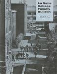 Faculty Bulletin: November 18, 1970