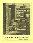 Faculty Bulletin: March 17, 1971