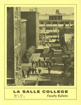Faculty Bulletin: May 6, 1971