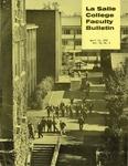 Faculty Bulletin: April 12, 1972