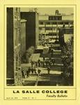 Faculty Bulletin: April 10, 1973