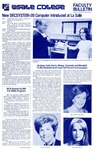 Faculty Bulletin: October 22, 1976