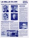 Faculty Bulletin: October 21, 1977