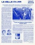 Faculty Bulletin: October 19, 1979