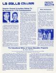 Faculty Bulletin: April 25, 1980