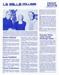 Faculty Bulletin: December 18, 1981