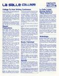 Faculty Bulletin: February 19, 1982