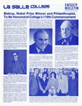 Faculty Bulletin: April 30, 1982 by La Salle University