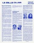 Faculty Bulletin: February 24, 1983
