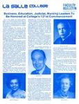 Faculty Bulletin: April 27, 1984 by La Salle University