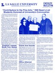 Faculty Bulletin: November 7, 1984