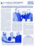 Faculty Bulletin: November 7, 1985