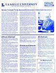 Faculty Bulletin: April 30, 1986