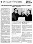 Faculty Bulletin: November 6, 1986