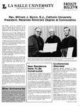 Faculty Bulletin: November 25, 1987