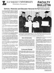Faculty Bulletin: December 8, 1989 by La Salle University